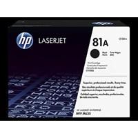 Toner Printer Cartridge HP Original LaserJet 81A - CF281A - Hitam