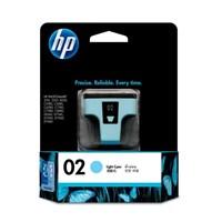 Tinta Printer HP 02 AP Light Cyan Ink Cartridge