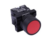 Push Button Plastic Head Flat LB2-EA42