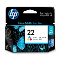Tinta Printer HP 22 Tri-color Ink Cartridge