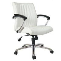 Chairman Premier Collection Kursi Kantor PC 9930 ALC - Leather - Putih - Inden 14-30 Hari