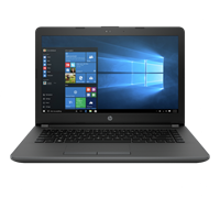 Laptop HP 240 G6 Layar HD 14-Inch, Intel Core i5-7200U, Radeon R5 520 2GB Graphics, Memori DDR4 4GB 3LK61PA#AR6