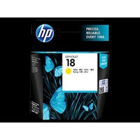 Tinta Printer HP Ink Cartridge C4939A 18 - Regular- Kuning