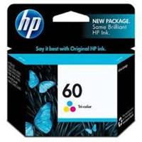 Tinta Printer HP 60 Tri-color Ink Cartridge CC643WA