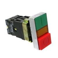 LED Illuminated Double Head Push Button 220V LB2-EW8465