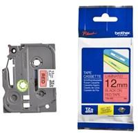 Pita Printer Brother Label Tape TZe-431 - 12 mm - Black on Red