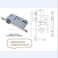 Badan Kunci Sterling 72-ZL-55