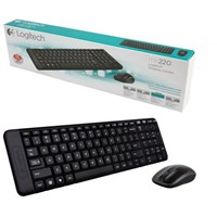 Keyboard + Mouse LOGITECH MK 220 Wireless
