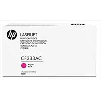 Toner Printer Cartridge HP Original Contract LaserJet 654A - CF333AC - Magenta