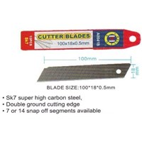 Isi ulang Pisau Cutter 7 snap off  segments C-Mart CA0041B-07