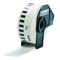Tinta Printer Brother Continuous Length Tape DK-22210 - 29 mm - Black on White