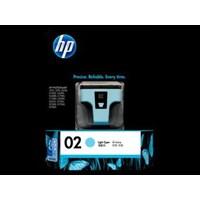 Tinta HP Original Ink Cartridge 02 AP - C8774WA - Light Cyan
