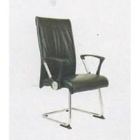 Chairman Premier Collection Kursi Kantor PC 9750 BA - Oscar / Fabric - Kaki Chrome - Hitam - Inden 14-30 Hari