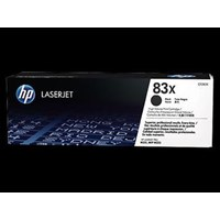 Toner Printer Cartridge HP Original High Yield LaserJet 83X - CF283X - Hitam