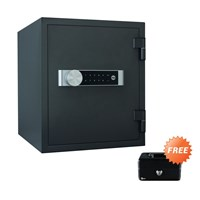 Brankas + Cash Box Medium Yale Safe Deposit Box Fire YFM 420 FG2
