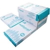 Kertas HVS Natural F4 70 gram - 1 Box isi 5 Rim