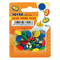 Paku Mading / Color Thumb Tacks Joyko CTT-10