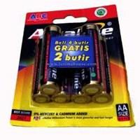 Baterai AA ABC Alkaline Isi 6 pcs