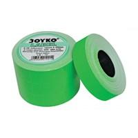 Label Harga Joyko LB-10 (2 baris, Cah-Cah, fluorescent green)
