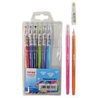 Color Gel Pen GPC-309S (Diamond Art) Joyko