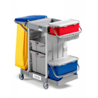 Alpha Trolley 3101 With Wheel & Bag Holder Type 3