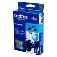 Tinta Printer Brother Ink Catridge LC-38 C Cyan