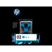 Tinta Printer HP Original Ink Cartridge 02 AP - C8771WA - Cyan