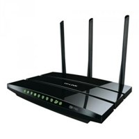 Wireless Router Dual-Band Wi-Fi TP-Link 1300Mbps at 5GHz + 450Mbps at 2.4GHz, 5 Gigabit Ports Archer C7(US)