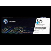 Toner Printer Cartridge HP Original LaserJet 827A - CF301A - Cyan