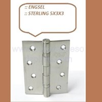 Engsel Pintu dan Jendela Sterling 5x3x3