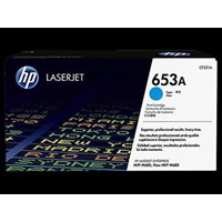 Toner Printer Cartridge HP Original LaserJet 653A - CF321A - Cyan