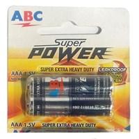 Baterai AAA ABC Super Power