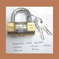 Gembok Viro Bulat 80 mm