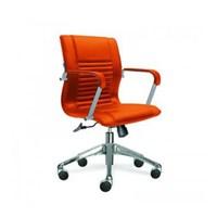 Indachi Kursi Kantor Secretary Estoo I AL - TC - Orange - Inden 14-30 Hari