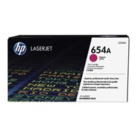 Toner Printer Cartridge HP Original LaserJet 654A - CF333A - Magenta
