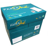 Kertas HVS Paper One / Paperone A4 70 gram - 1 Box isi 5 Rim