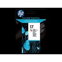 Tinta Printer HP Ink Cartridge C6625A 17- Regular- Tiga warna