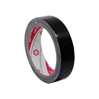 Lakban Hitam Daimaru Cloth Tape 24mm x 12 m- Hitam