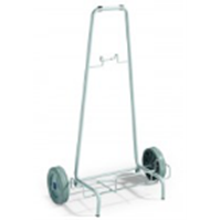 Rilsan coated trolley with wheel