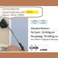 Engsel Kabinet SDS-C100-Putih Sugatsune