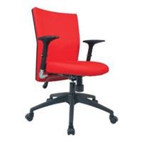 Kursi Kantor Chairman Modern Chair MC 1503 - Merah - Inden 14-30 Hari