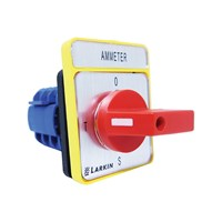 Ammeter Selector Switch 4 Position, 20A, 3P