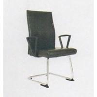 Chairman Premier Collection Kursi Kantor PC 9850 BA - Oscar / Fabric - Kaki Chrome - Hitam - Inden 14-30 Hari