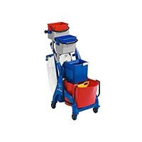 VEGA tripple bucket with trolley + wringer