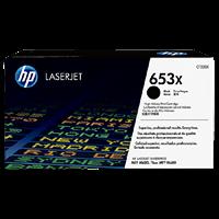 TONER PRINTER HP 653X Black Contract LaserJet Toner Cartridge
