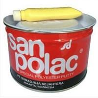 Dempul Polyester Sanpolac Putty 1 kg
