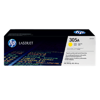 TONER PRINTER HP 305A Yellow Contract LaserJet Toner Cartridge