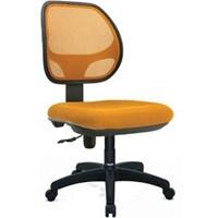 Donati Kursi Kantor Asvecto 2 N - Oscar/Fabric - Orange - Indent 14 hari s/d 30 hari
