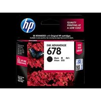 Tinta HP Original Ink Advantage Cartridge 678 - CZ107AA - Hitam