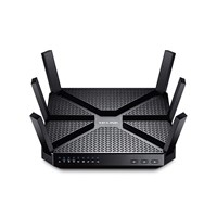 Wireless Router Tri-Band Wi-Fi TP-Link 1300Mbps at 5GHz_1 + 1300Mbps at 5GHz_2+ 600Mbps  at 2.4GHz, 5 Gigabit Ports Archer C3200(US)